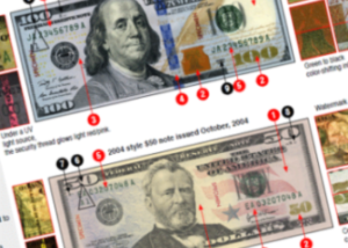 Identifying Counterfeit Currency